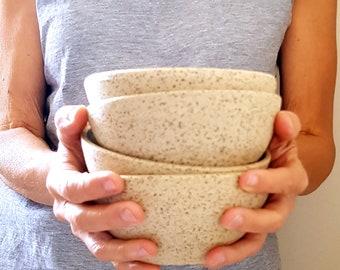 Set of 4 Ceramic Serving Bowls