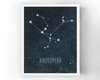 Andromeda Constellation Art
