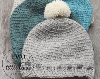 Slouchy pattern, crochet Pattern, crochet hat pattern, slouchy hat pattern, pom pom, slouchy crochet pattern, DARCI SLOUCHY