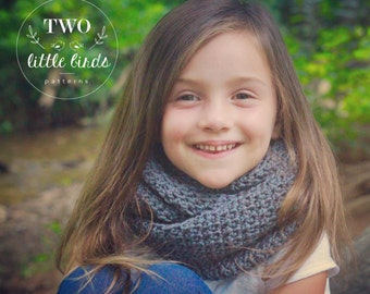 Crochet Pattern, crochet infinity scarf pattern, infinity scarf, easy crochet scarf pattern, sizes child and adult, EDEN INFINITY SCARF