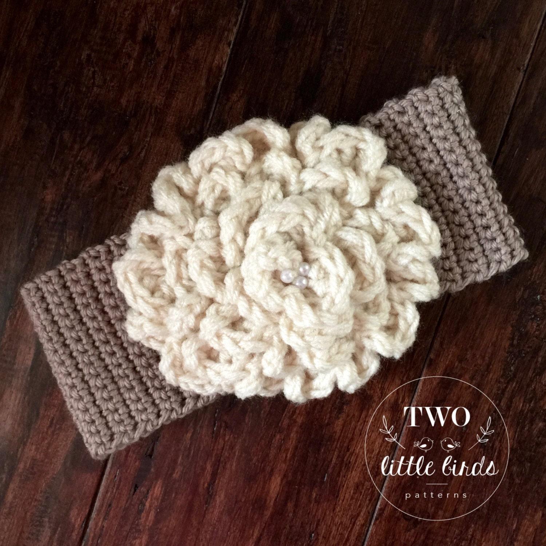 Easy Crochet Pattern Crochet Ear Warmer Pattern Gift For Etsy