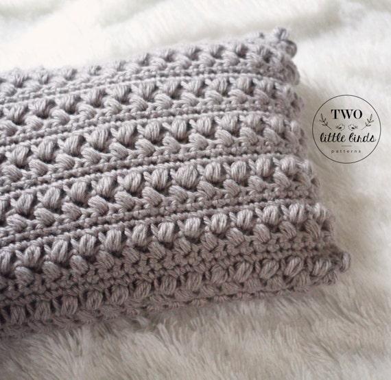 Crochet Pattern Pillow Pattern Crochet Pillow Crochet Throw Etsy