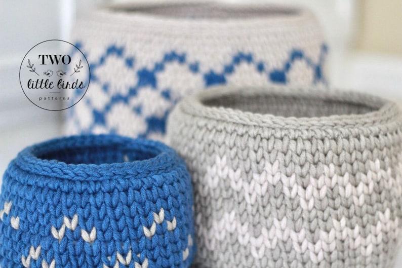 Crochet Pattern Crochet Basket Pattern Crochet Basket Etsy