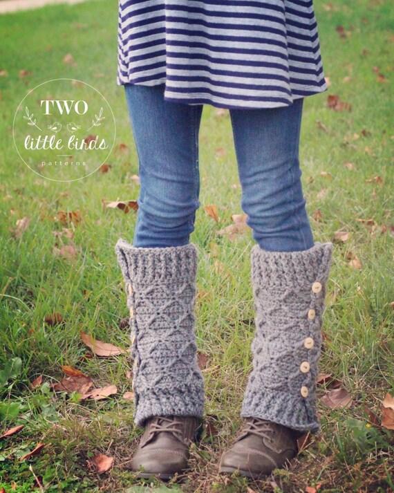 Crochet Pattern Crochet Leg Warmer Pattern Crochet Leg Etsy