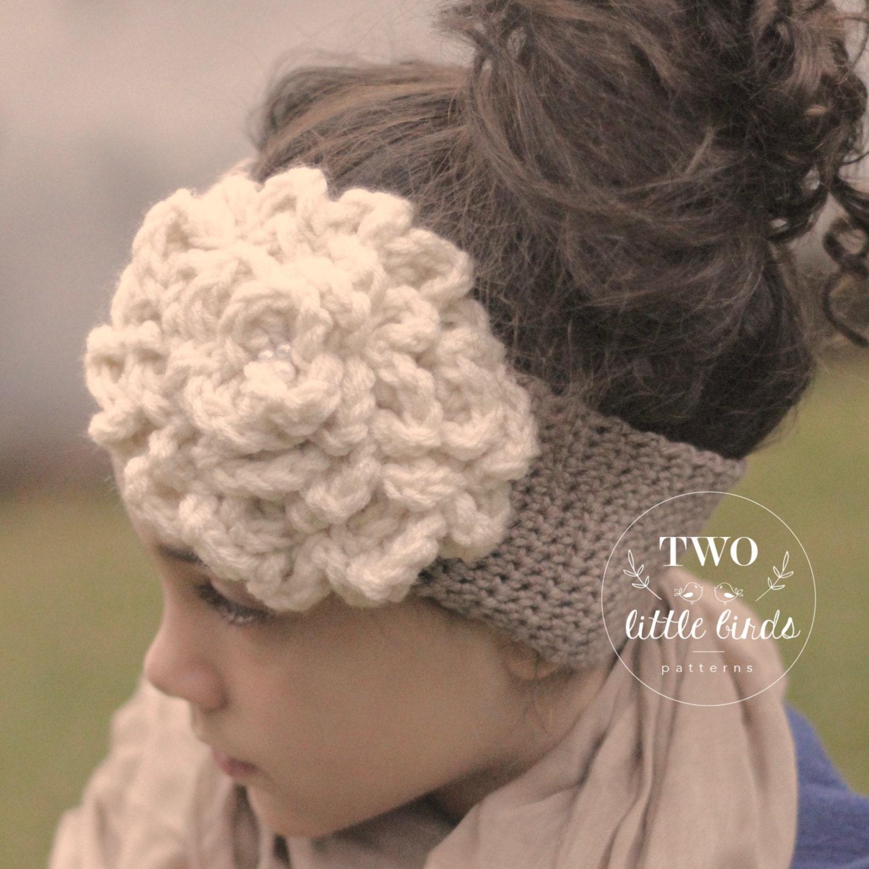 Crochet Pattern Crochet Ear Warmer Pattern Crochet Headband Etsy