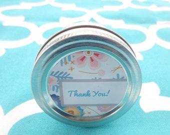 Thank You Candle 4 Ounce Thank You Scented Soy Candle Thank You Gift