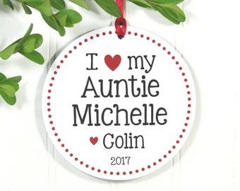 Aunt ornament | Etsy