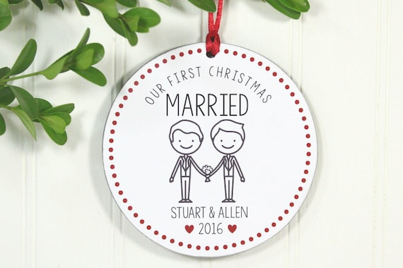Same Sex Wedding Gift Ideas: Christmas Wedding Gift Same Sex Wedding Gift Mr. & Mr.