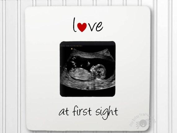 Ultrasound Gift Sonogram gift Gender Reveal New Baby Frame | Etsy