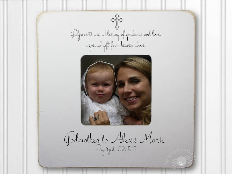 Godmother Gift Godmother Frame Gift for Godmother Baptism