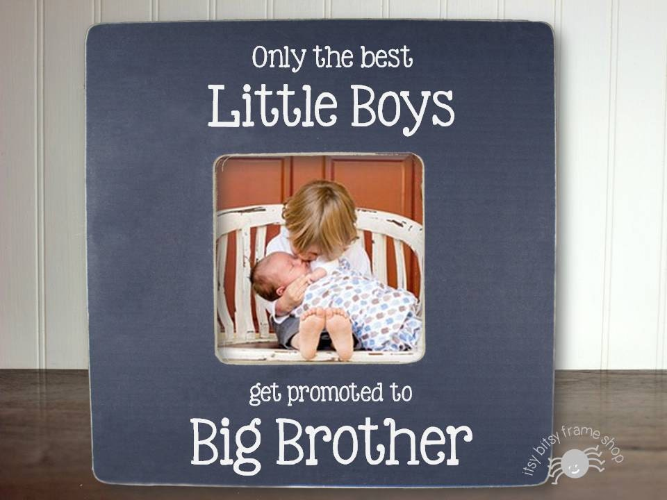 Big Brother Gift Big Brother Frame New Sibling Gift Only the | Etsy