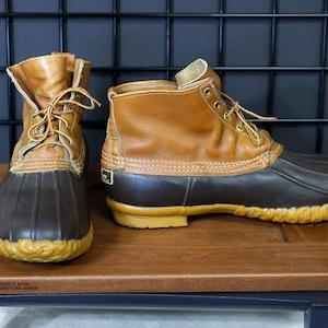 1970 's 8 Eye LL Bean Maine jacht schoen eend laarzen   Etsy