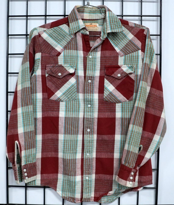 Buffalo Bills Western Flannel Shirt