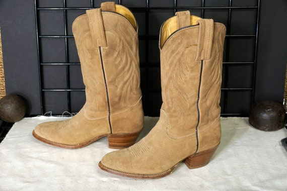 "FRYE Boots - ""Rough Out""  Cowboy Boots"
