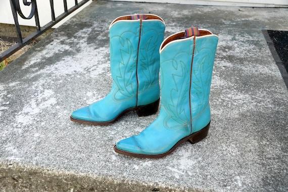 1960's Ladies Western Boots