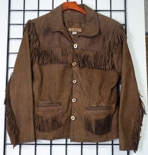 Women's Arturo Fringed Leather Jacket