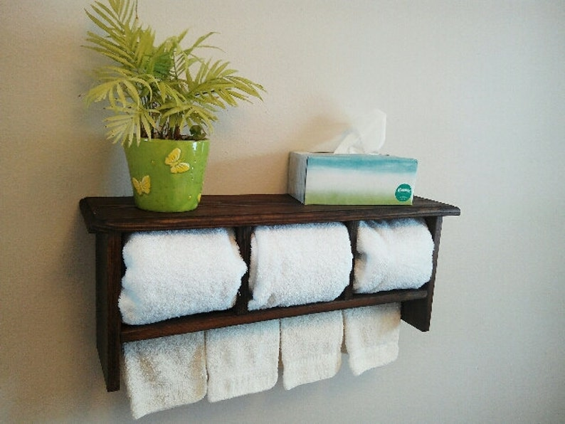 Bar Plank Aan Muur.Plank Badkamer Plank Handdoek Bar Keuken Kast Display Etsy