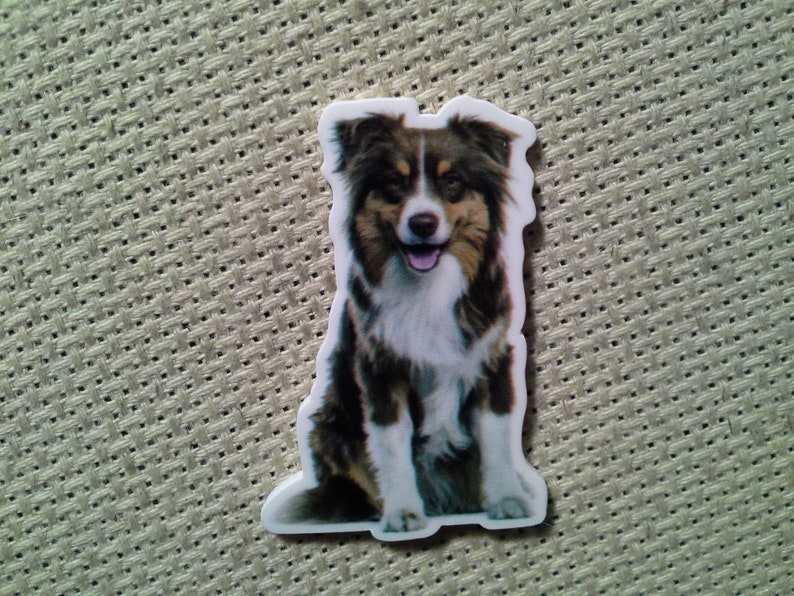 Shepperd Dog Needle MinderMagnet