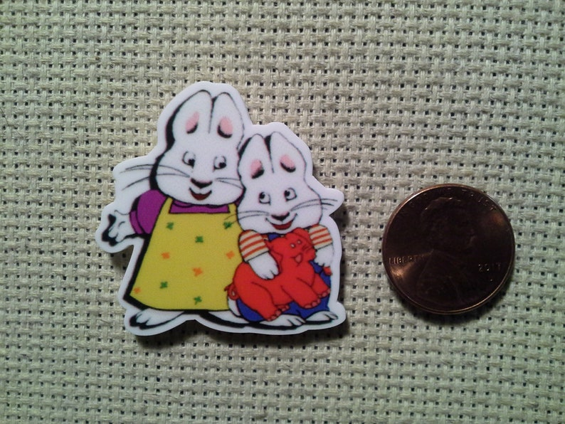 Max and Ruby Needle MinderMagnet
