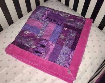 Baby Blanket, Cuddle Me Baby Blanket (Pink)
