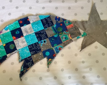 Cuddle Me Shooting Star Lovey Blanket (Reach for the Stars)