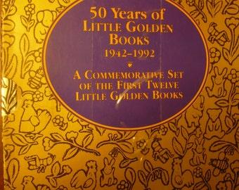 50 Years of Little Golden Books 1942-1992 Commemorative Set