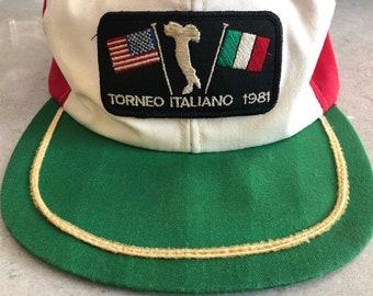 025bf402ca0c9 Vintage Golf Hat 1981