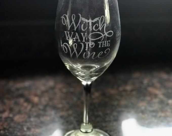 Engraved Glasses - Pellegrin Graphics