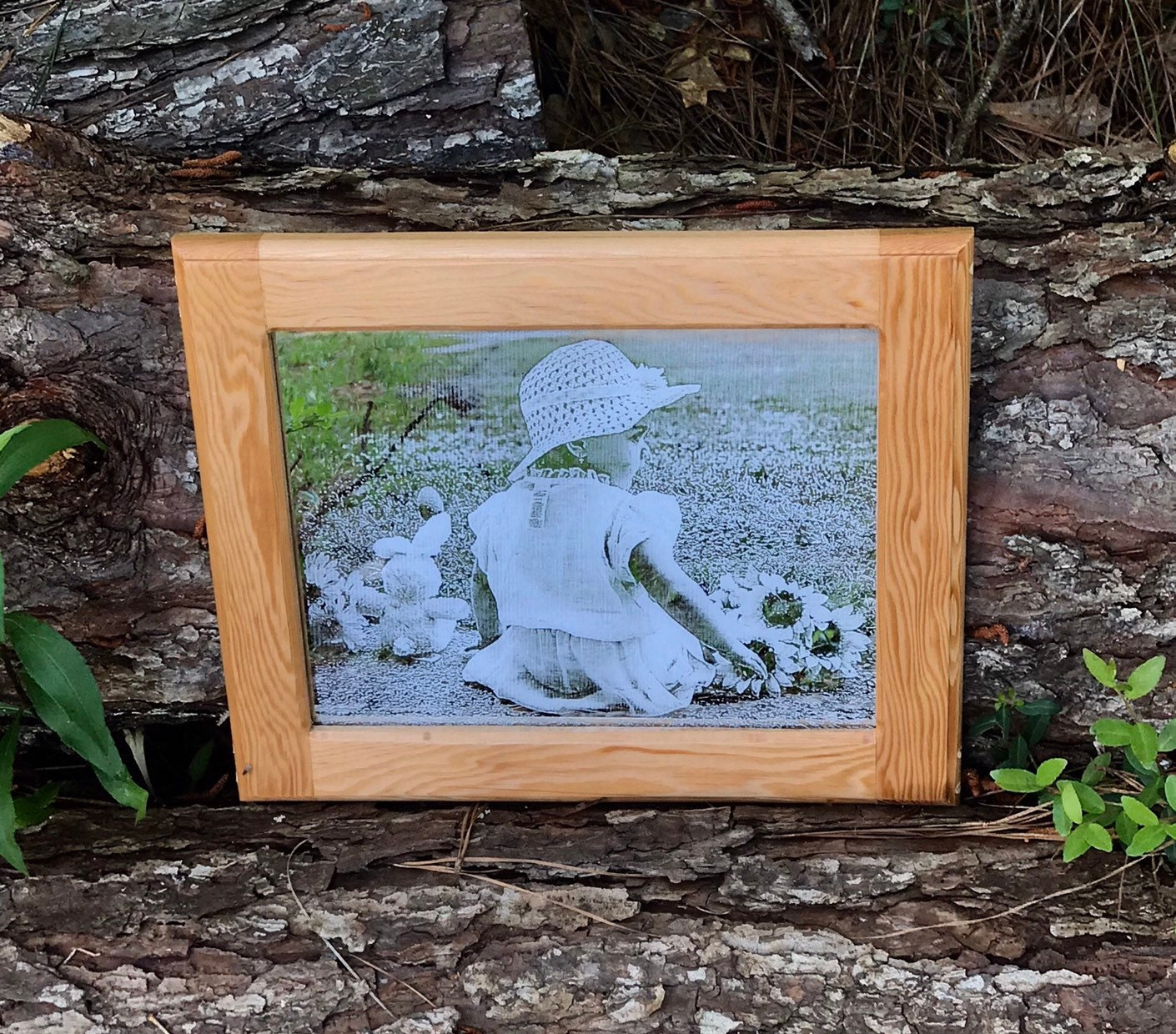 Photo Engraved Mirror Custom Engraved Picture Photo Etched
