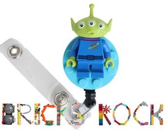 Rey\u2122 Badge Reel made with LEGO\u00ae Minifigure\u2122 Pediatric Star Wars\u00a9 ID Badge Holder