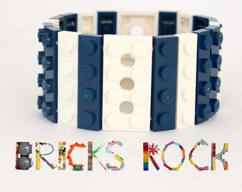Nautical -  1 x 4 Bracelet made with LEGO® - Jewelry made with LEGO® - Bracelet made with LEGO®