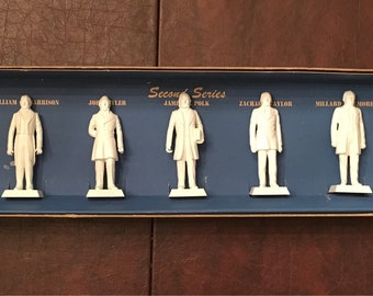Louis Marx Vintage Toy Presidents of the United States Second Series