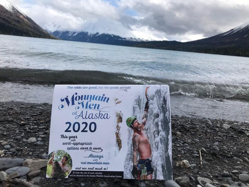 2020 Mountain Men of Alaska Wall Calendar image 0