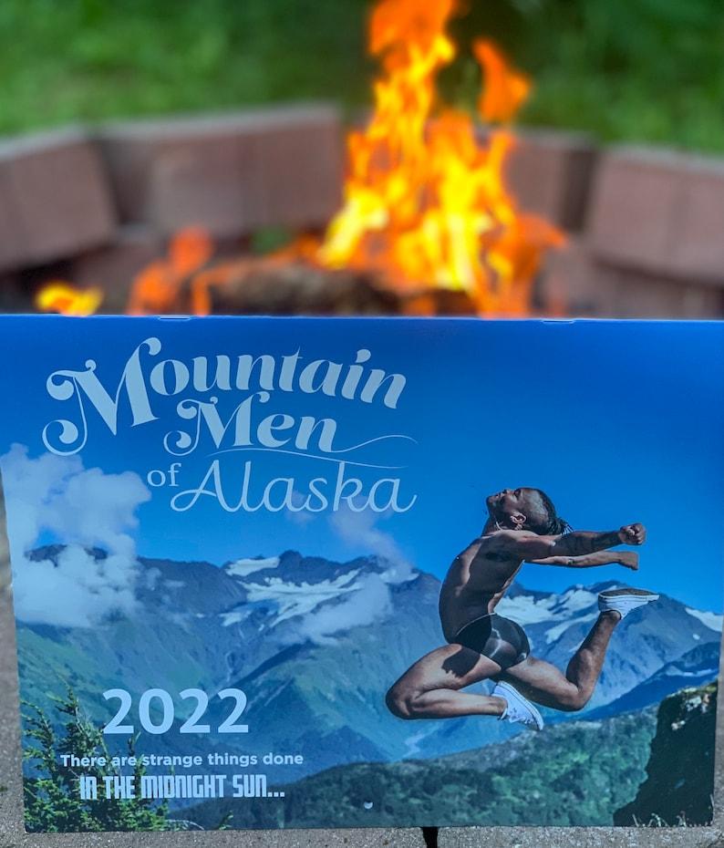 2022 Mountain Men of Alaska Calendar image 1