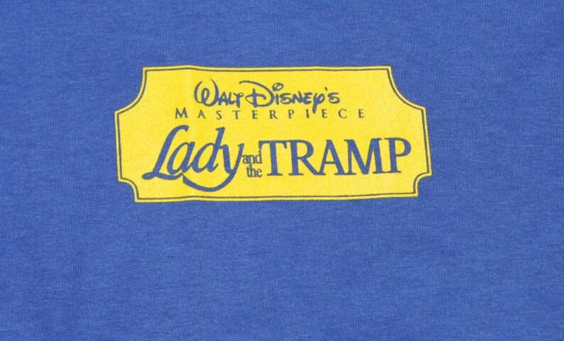 f260a45b Vintage 90's Lady and the Tramp XL T-Shirt Walt Disney | Etsy