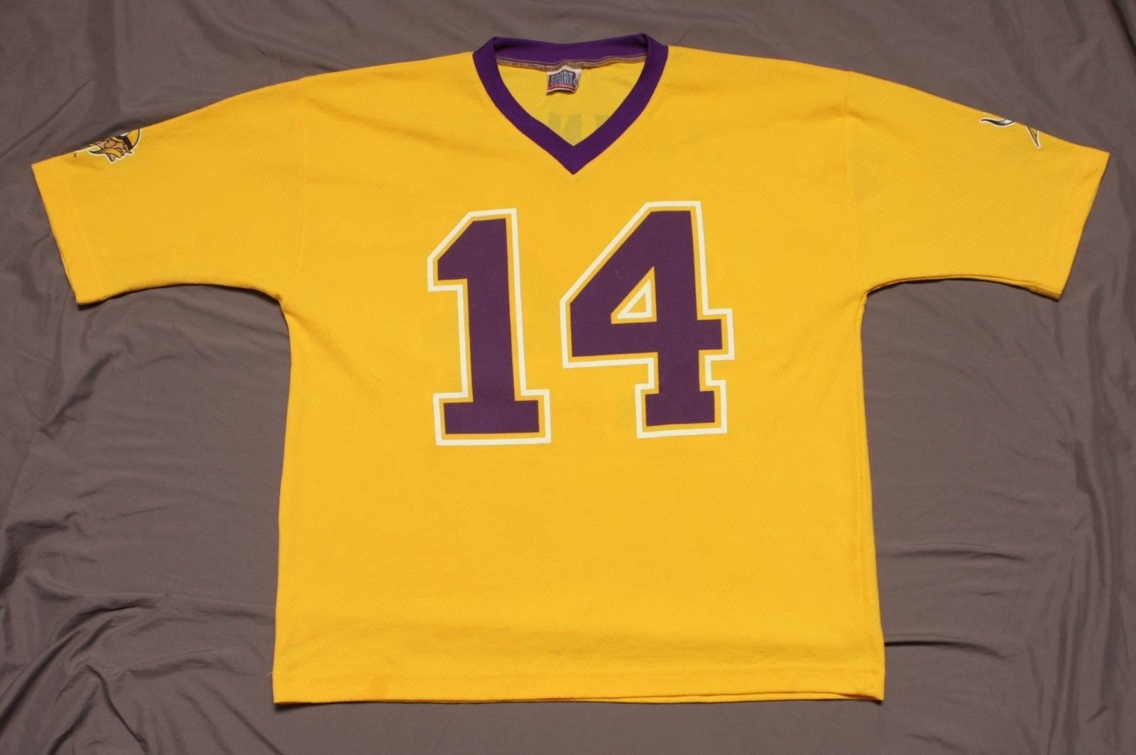 low priced b503f 4ebea Vintage 90's Minnesota Vikings Jersey Brad Johnson #14 NFL Football 90s  1998 Sport