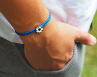 Bracelet with football, gift school enrollment 2021 boy, football championship