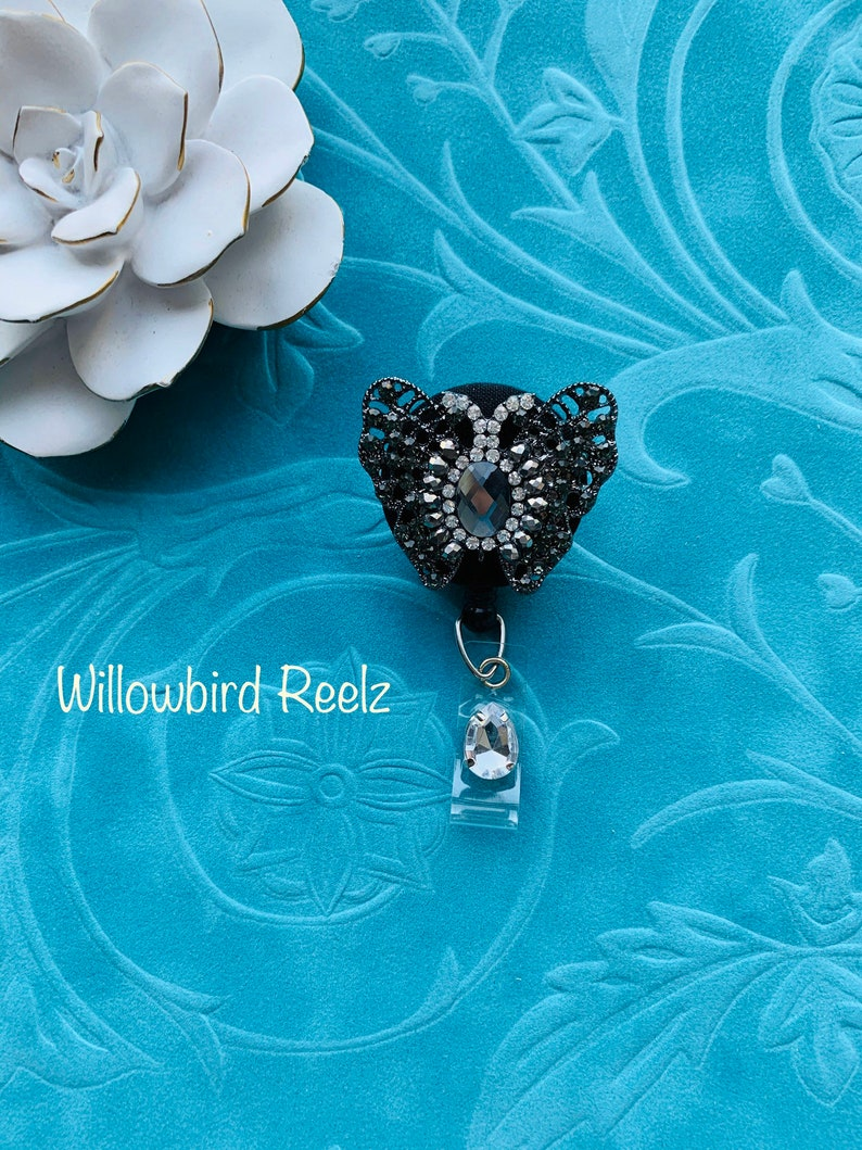 Badge ReelBadge Holder-Butterfly rhinestone  Nurse Retractable ID Badge ReelDoctor Badge ReelNurse Badge HolderNursing Student Gifts