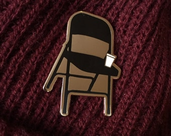 In The Rooms Enamel Pin