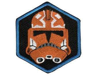Star Wars Episode 501st Legion Storm Trooper Kids Children Iron-On Patches #M027