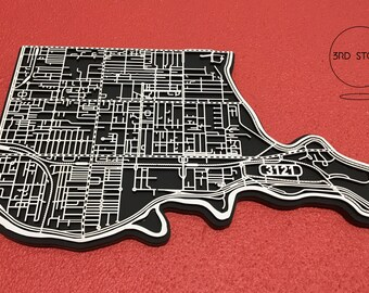 Richmond 3121. Superb, laser cut wall decoration.