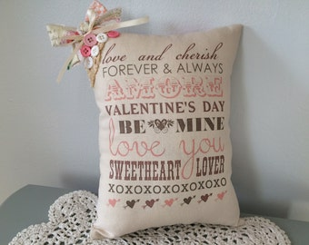 Be My Valentine Pillow