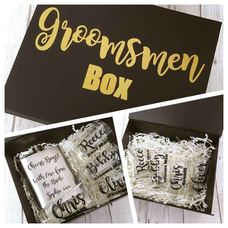 Groomsman Survival Kit Keepsake stag night Wedding gift for the groomsman