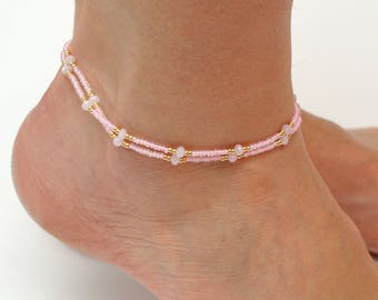 Fashion Jewelry Agate Anklets Gemstone Anklets Friendship Anklets Gift Anklets Men Women Orders Are Welcome.