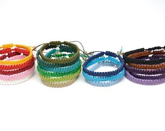 thread bracelet anklet macrame bracelet Black bracelet wax cord bracelet Surf bracelet for mens bracelet simple bracelet boyfriend gift