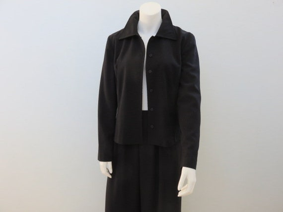 Vintage Bill Blass Polyester Jacket Womens 12