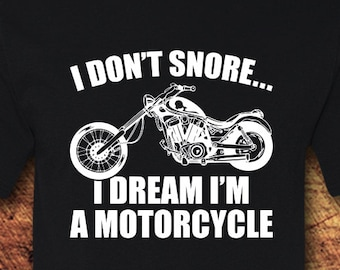 Snore Motorcycle Shirt Gifts Grandpa For Grandparents Dad