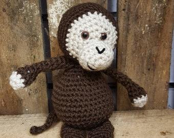 Cheeky little monkey hand made