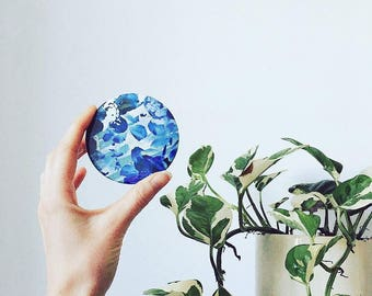 Pocket Mirrors, Flat Gifts, Pretty Compact Mirrors, Cute Make up Bag or Gift Bag Filler, Floral Prints, Flat letterbox gifts