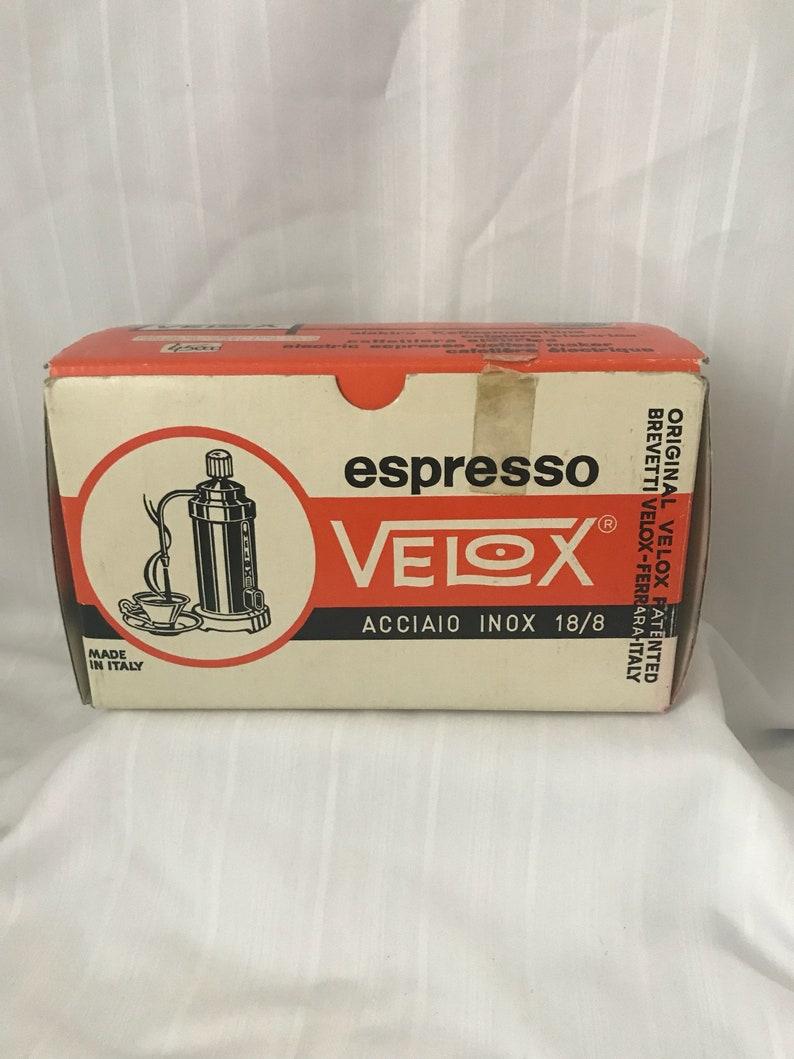 Rare Vintage Italian Velox Espresso Maker